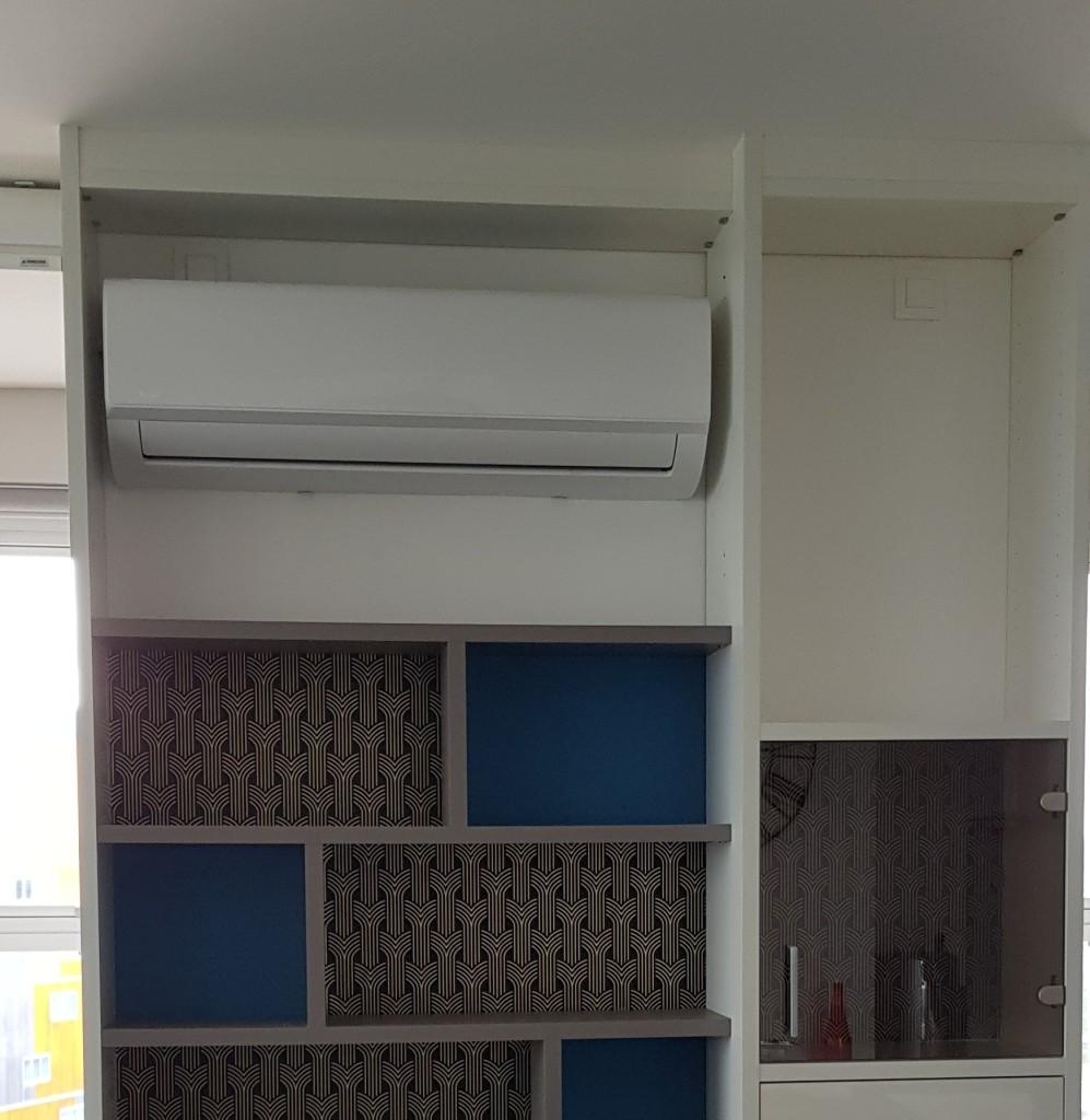 Installation climatisation réversible dans un appartement Nantais